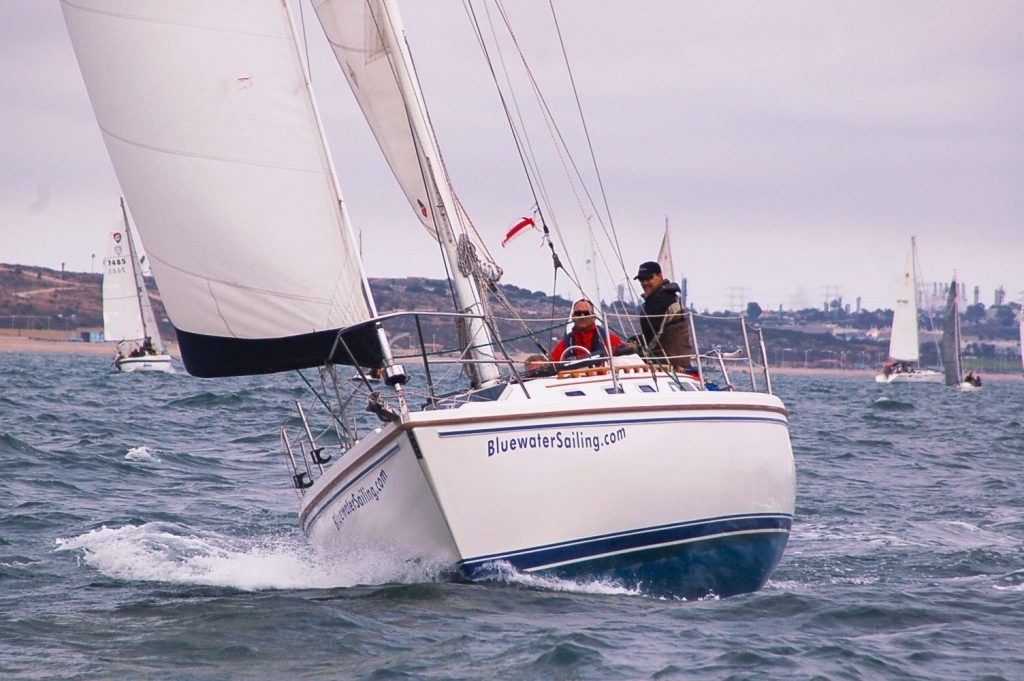 Sailing Lessons in Marina del Rey - Bareboat Chartering