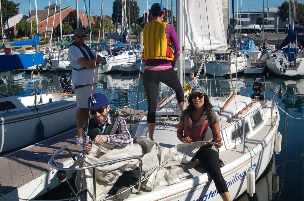 ASA 101 - Basic Keelboat Sailing